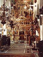 Intérieur de l'église du monastère Sainte Catherine du mont Sinai