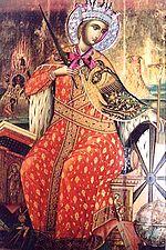 icône de Sainte Catherine