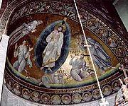 Mosaïque de la Transfiguration du monastère Sainte Catherine du mont Sina
