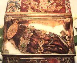 La main de Sainte Catherine du Sinaï