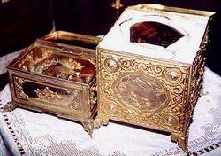 Les reliques de Sainte Catherine du Sinaï