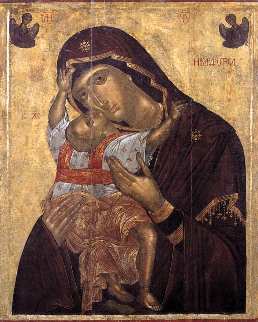 Famous Religious Icons Of Theotokos