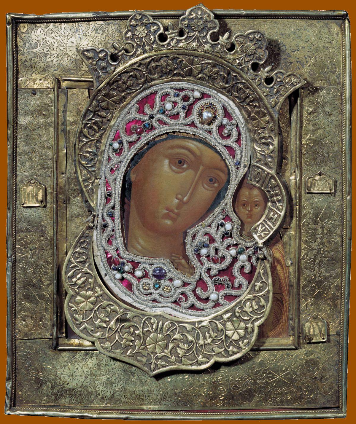St Luc peignant la Vierge Kazan_17e