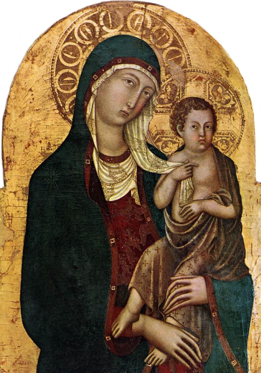 Les tableaux religieux italiens du Moyen Age